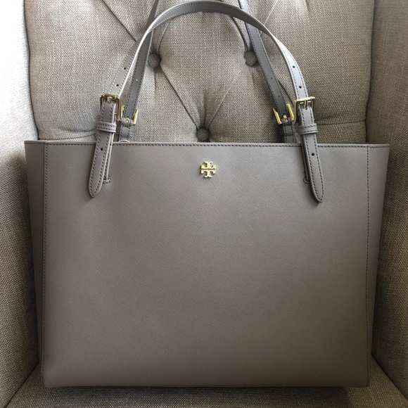 9be55bb097dd2 Tory Burch Emerson LARGE Buckle Tote